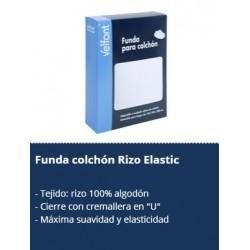 Funda colchón rizo elastica ALGODÓN 100%