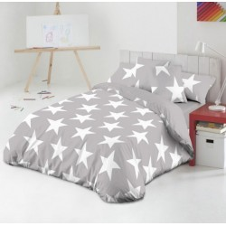 Funda nórdica STAR GRIS