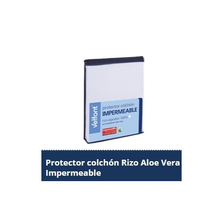 Protector colchón Impermeable Aloe Vera